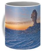 Egytians White Desert Coffee Mug