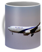 El Al Israeli Airlines Coffee Mug