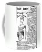 Electric Corset, 1882 Coffee Mug