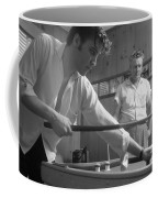 Elvis Presley With His Father Vernon 1956 Coffee Mug