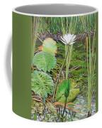 Emerald Lily Pond Coffee Mug