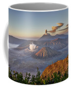 eruption at Gunung Bromo Coffee Mug