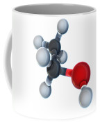 Ethanol Molecular Model Coffee Mug
