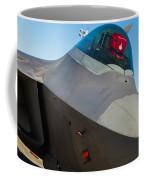F-22 Raptor Jet Coffee Mug