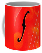 F Hole Abstract Coffee Mug