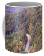 Fall Drive In The Smokies Coffee Mug