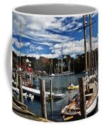Fall In The Harbor Coffee Mug
