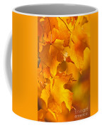 Fall Maple Leaves Coffee Mug by Elena Elisseeva