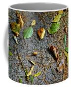 Fallen Leaves Coffee Mug by Carlos Caetano