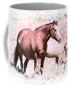 Family Of Horses Coffee Mug