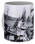 Feeding Bear Yellowstone National Park Coffee Mug