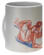 Female Figure Painting Coffee Mug