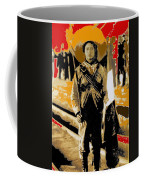 Female Soldier With Mexican Flag  Unknown Location C. 1914-2014 Coffee Mug