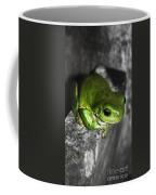 Fence Frog Coffee Mug