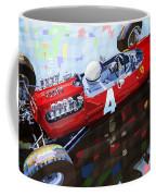 1965 British Grand Prix Silverstone  Lorenzo Bandini Ferrari 158 Coffee Mug