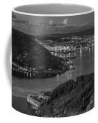 Ferrol's Estuary Panorama From La Bailadora Galicia Spain Coffee Mug