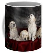 Festive Puppies Coffee Mug