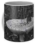 Field Mouse On Mushroom Cap  Coffee Mug