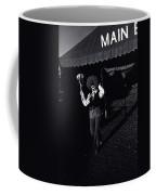 Film Homage Charlie Chaplin The Circus 1928 Clown Strong Circus Bisbee Arizona 1980 Coffee Mug