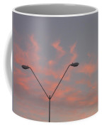 Film Homage George Pal The War Of The Worlds 1953 Parking Lot Lights Casa Grande Arizona 2004 Coffee Mug