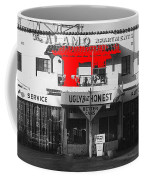 Film Homage Mickey Rourke Harley Davidson And The Marlboro Man 1991 Five Points Alamo Apartments Coffee Mug