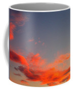 Film Noir Homage Slightly Scarlett John Alton Rko 1956 Reddish Clouds Dusk Casa Grande 2005 Coffee Mug