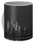 Financial District In New York City At Twilight Coffee Mug