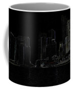 Financial District Of Singapore And View Of The Water Coffee Mug