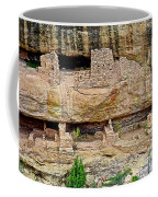 Fire Temple On Chapin Mesa Top Loop Road In Mesa Verde National Park-colorado  Coffee Mug