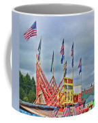 Fireworks Stand Coffee Mug by Cathy Anderson