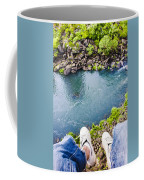 First Person View Riding The Tasmanian Chairlift Coffee Mug