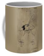 Fishing Fly Patent Coffee Mug