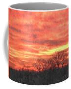 Flaming Sunset Coffee Mug
