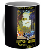 Fleuves De La Galice Automobile Coffee Mug