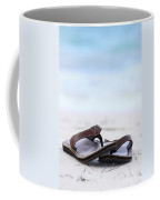 Flip-flops On Beach Coffee Mug