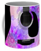 Floral Abstract Guitar 17 Coffee Mug