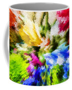 Floral Art X Coffee Mug