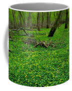 Floral Forest Floor Coffee Mug