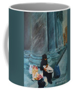 Flower Lady Of The Pantheon Coffee Mug
