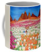 Flowers And Fields Alive With Thy Joy Coffee Mug