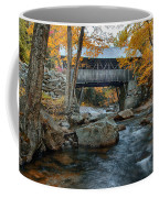 Flume Gorge Covered Bridge Coffee Mug