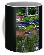 Flying Dolphins Coffee Mug