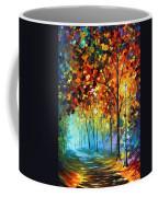 Fog Alley Coffee Mug by Leonid Afremov