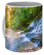 Forest Stream And Waterfall Coffee Mug