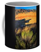 Fossil Beds And Grass Coffee Mug