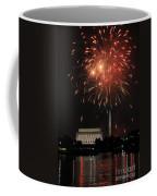 Fourth Of July Fireworks At Washington Dc Coffee Mug