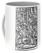 France: Hospital, C1500 Coffee Mug