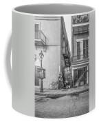 French Quarter Trio - Paint Bw Coffee Mug