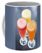 Fresh Orange Carrot And Watermelon Fruit Juice Coffee Mug