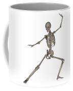 Front View Of Human Skeleton Coffee Mug